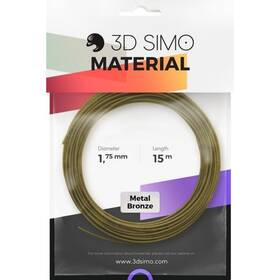 3D SIMO METAL - bronzová 15m (G3D3006)