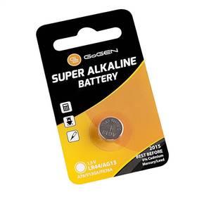 GoGEN SUPER ALKALINE LR44, blistr 1ks (GOGLR44ALKALINE1) čierna/oranžová