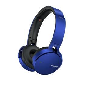 Sony MDR-XB650BT (MDRXB650BTL.CE7) modrá + Doprava zdarma