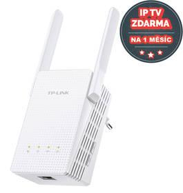 TP-Link RE210 Dual Band AC750 + IP TV na 1 měsíc ZDARMA (RE210) bílý