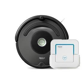 iRobot Roomba 676 + iRobot Braava jet 240 černý