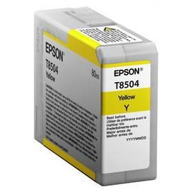 Epson T8504, 80 ml (C13T850400) žlutá