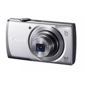 Digitální fotoaparát Canon PowerShot A3500 IS (8162B012) stříbrný