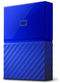 Western Digital My Passport 4TB (WDBYFT0040BBL-WESN) modrý