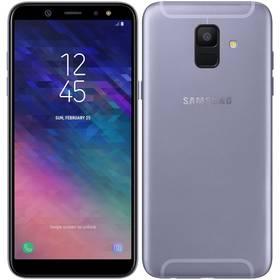 Samsung Galaxy A6 (SM-A600FZVNXEZ) fialový SIM s kreditem T-Mobile 200Kč Twist Online Internet (zdarma)