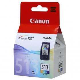 Inkoustová náplň Canon CL-513C, 350 stran - originální (2971B001) červená/modrá/žlutá