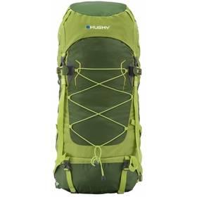 Husky Ribon 60L zelený + Stan Loap BEACH SHADE M pro 2 osoby - žlutá v hodnotě 299 Kč + Doprava zdarma