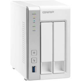 Datové uložiště (NAS) QNAP TS-231P (TS-231P) bílá + Doprava zdarma