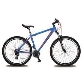 """Olpran EXTREME 27,5"""" modré/oranžové Sada cyklodoplňků (zvonek+blikačka+světlo) pro kolo dospělé (zdarma) + Doprava zdarma"""