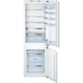 Kombinácia chladničky s mrazničkou Bosch KIS86AF30 biela