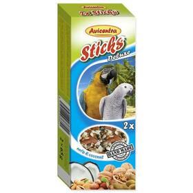 Avicentra Tyčinka velký papoušek ořechová 2 ks