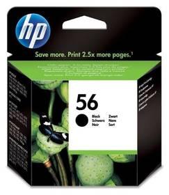 HP No. 56, 19ml, 520 stran (C6656AE) černá