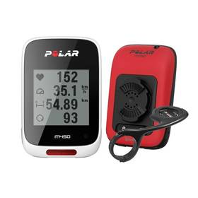 Polar M450 HR červený + Doprava zdarma