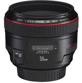 Canon EF EF 50mm f/1.2 L (1257B007AA) černý + Doprava zdarma