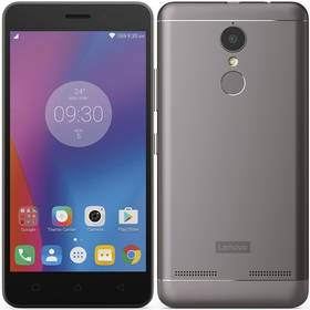 Mobilní telefon Lenovo K6 (PA530039CZ) šedý