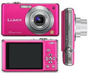 Digitálny fotoaparát Panasonic DMC-FS7EP-P růžový ružový