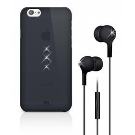 White Diamonds Crystal pro iPhone 6 + sluchátka (WD-7007TRI6) černý + Doprava zdarma