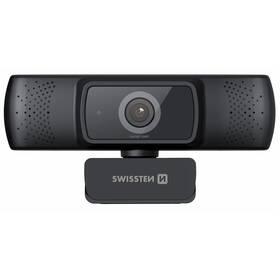 Swissten Webcam FHD 1080P (55000001) černá