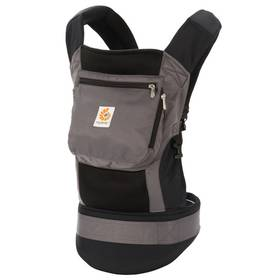 Ergobaby Performance Charcoal Black + Doprava zdarma
