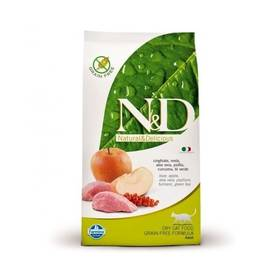 N&D Grain Free CAT Adult Boar & Apple 5 kg + Doprava zdarma