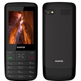 Aligator D920 Dual SIM (AD920BS) černý SIM s kreditem T-Mobile Twist V síti 200 Kč kredit (zdarma)Software F-Secure SAFE 6 měsíců pro 3 zařízení (zdarma)