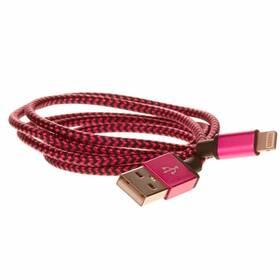 CellFish USB/Lightning, 1m (IPPLUSBKABELPINK) růžový (vrácené zboží 8800028065)