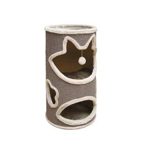 Nobby JILLIS škrábací válec pro kočky šedé/oranžové + Doprava zdarma
