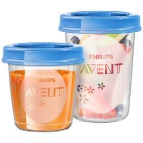 Philips AVENT 20ks modré/průhledné + Doprava zdarma