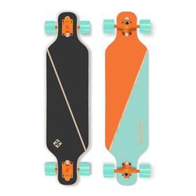 """Street Surfing Freeride 39"""" Nordic Orange + Reflexní sada 2 SportTeam (pásek, přívěsek, samolepky) - zelené v hodnotě 58 Kč + Doprava zdarma"""