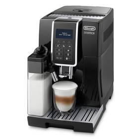 DeLonghi Dinamica ECAM 350.55 B černé + Káva DeLonghi Kimbo Classic 1kg zrnková v hodnotě 449 Kč+ Skleničky na latte macchiato DeLonghi v hodnotě 449 Kč + Doprava zdarma