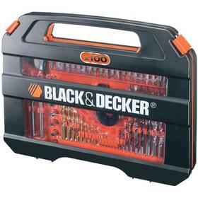 Black-Decker A7154 černé/stříbrné