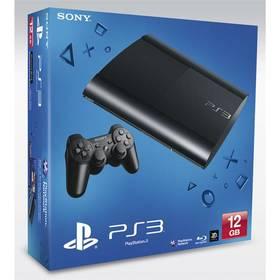 Sony PlayStation 3 12GB (PS719448419) černá + Doprava zdarma