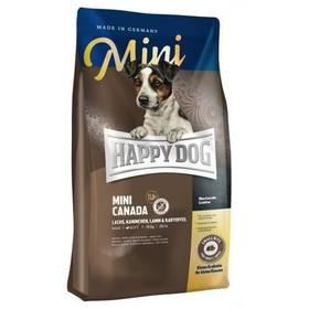 HAPPY DOG MINI Canada 4 kg + Antiparazitní obojek za zvýhodněnou cenu + Doprava zdarma