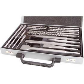 EXTOL CRAFT 23953 SDS PLUS, 17 ks, v kovové kazetě ocel + Doprava zdarma