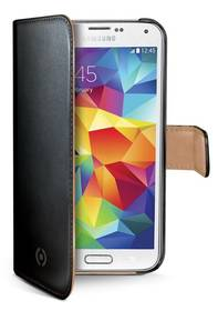 Celly WALLY pro Galaxy S5 mini (WALLY422) černé