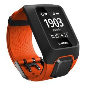 Tomtom Adventurer Cardio + Music (1RKM.000.00) oranžová