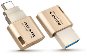 ADATA UC350 32GB OTG USB-C/USB 3.1 (AUC350-32G-CGD) zlatý
