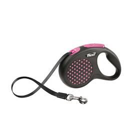 Flexi Design S Pásek 5m/15kg růžové