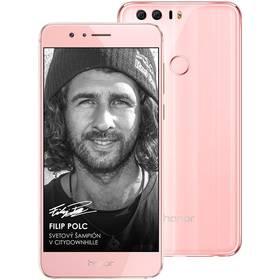 Mobilný telefón Honor 8 Dual SIM Premium 64 GB (51090YUJ) ružový