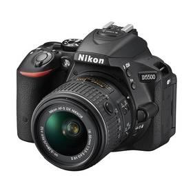 Nikon D5500 + 18-55mm VR II KIT černý + Doprava zdarma