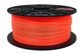 Tlačová struna (filament) Plasty Mladeč 1,75 PLA, 1 kg - fluorescenční oranžová (F175PLA_FO)