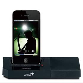 Genius SP-i500 pro iPhone/iPod (31730028101) černá + Doprava zdarma