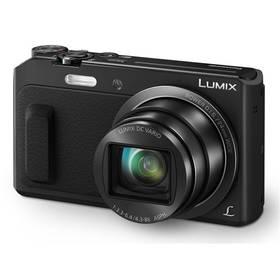 Panasonic Lumix DMC-TZ57EP-K černý + Doprava zdarma