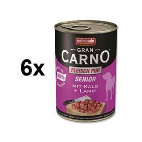 Animonda Senior Gran Carno telecí + jehně 6 x 400g
