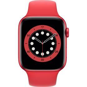 Apple Watch Series 6 GPS 44mm pouzdro z hliníku PRODUCT(RED) - PRODUCT(RED) sportovní náramek (M00M3VR/A)