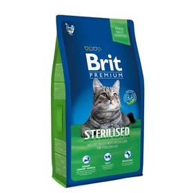Brit Premium Cat Sterilised 8kg + Doprava zdarma