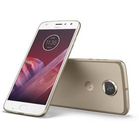 Motorola Moto Z2 Play Dual SIM (SM4483AJ1N7) zlatý Software F-Secure SAFE, 3 zařízení / 6 měsíců (zdarma) + Doprava zdarma