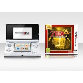 Nintendo 3DS White + The Legend of Zelda (NI3H042) + Doprava zdarma