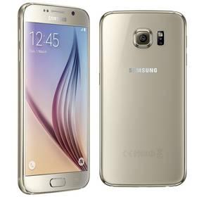 Samsung Galaxy S6 (G920) 32 GB (SM-G920FZDAETL) zlatý + Voucher na skin Skinzone pro Mobil CZ v hodnotě 399 Kč jako dárek + Doprava zdarma