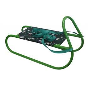 Acra Dětské kovové zelené + Reflexní sada 2 SportTeam (pásek, přívěsek, samolepky) - zelené v hodnotě 58 Kč